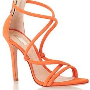 Schutz Brazilian Strappy Sandal Heel